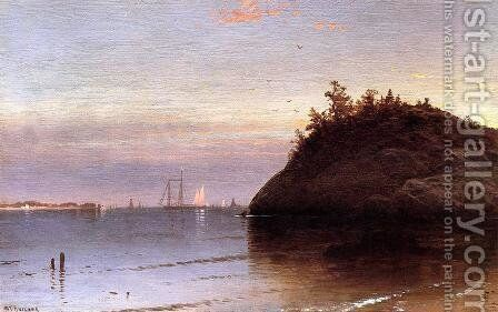 Narragansett Bay by Alfred Thompson Bricher - Reproduction Oil Painting
