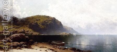 Off Grand Manan by Alfred Thompson Bricher - Reproduction Oil Painting