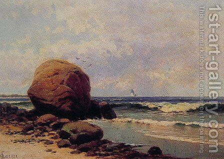 Seascape by Alfred Thompson Bricher - Reproduction Oil Painting