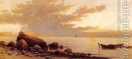 Sunset by Alfred Thompson Bricher - Reproduction Oil Painting