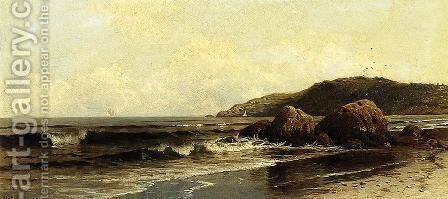 Breaking Surf by Alfred Thompson Bricher - Reproduction Oil Painting
