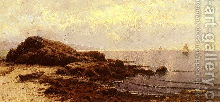 Low Tide, Bailey's Island, Maine by Alfred Thompson Bricher - Reproduction Oil Painting