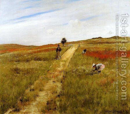 Shinnecock Hills (or Shinnecock Hills Autumn) by William Merritt Chase - Reproduction Oil Painting