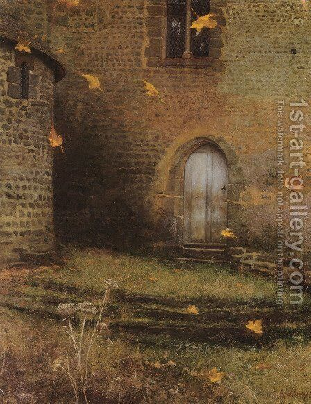 Solitude by Albert Lorieux - Reproduction Oil Painting