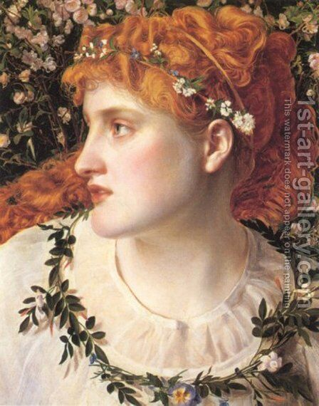 Perdita by Anthony Frederick Sandys - Reproduction Oil Painting
