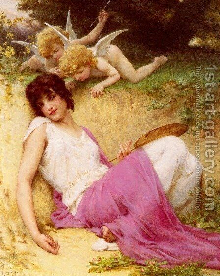 L'Innocence (Innocence) by Guillaume Seignac - Reproduction Oil Painting
