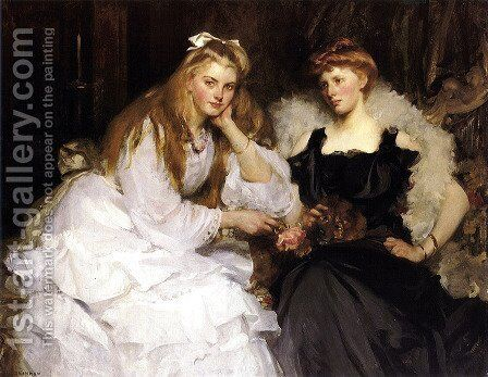 Portrait Of A Lady by James Jebusa Shannon - Reproduction Oil Painting