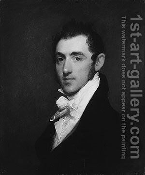 Henry Rice by Gilbert Stuart - Reproduction Oil Painting