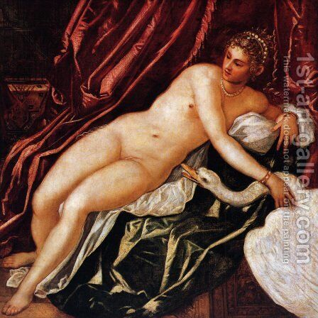 Leda and the Swan by Jacopo Tintoretto (Robusti) - Reproduction Oil Painting