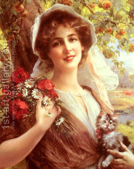Country Summer by Emile Vernon - Reproduction Oil Painting