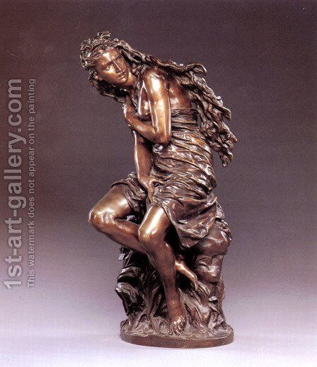 Peasant Girl by Jean-Baptiste Carpeaux - Reproduction Oil Painting