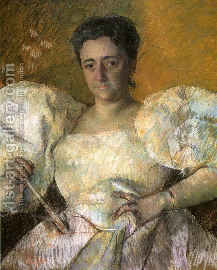 Louisine W. Havemeyer by Mary Cassatt - Reproduction Oil Painting