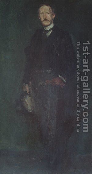 Edward Guthrie Kennedy by James Abbott McNeill Whistler - Reproduction Oil Painting