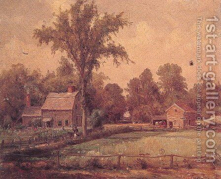 June Paradise Valley by Thomas Worthington Whittredge - Reproduction Oil Painting
