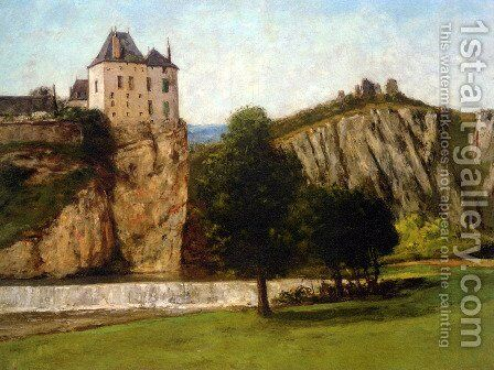 Le Chateau de Thoraise by Gustave Courbet - Reproduction Oil Painting