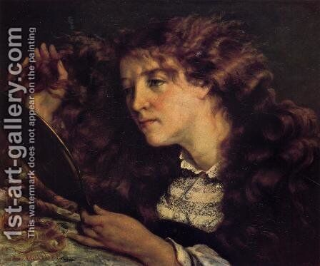Portrait of Jo, the Beautiful Irish Girl by Gustave Courbet - Reproduction Oil Painting