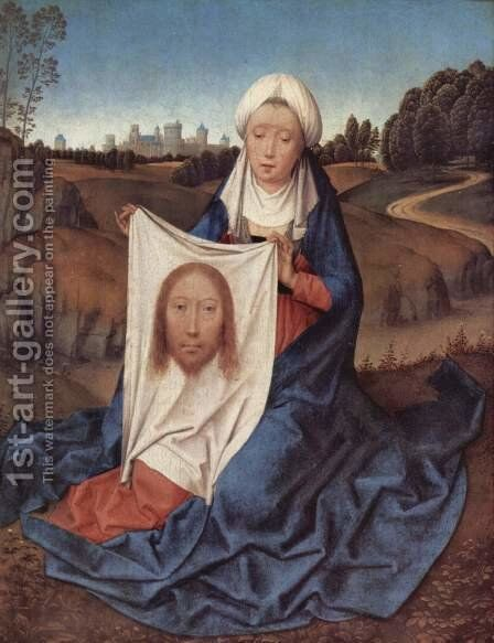 St. Veronica by Hans Memling - Reproduction Oil Painting