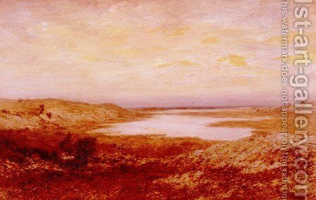 Newport Neck by Homer Dodge Martin - Reproduction Oil Painting