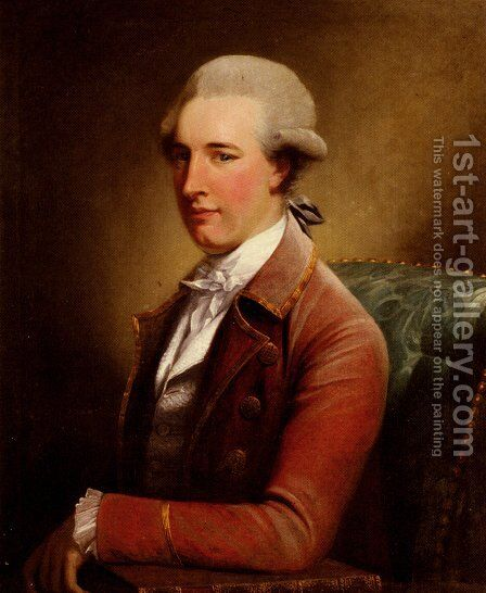 Portrait Of Thomas Mills by David Martin - Reproduction Oil Painting
