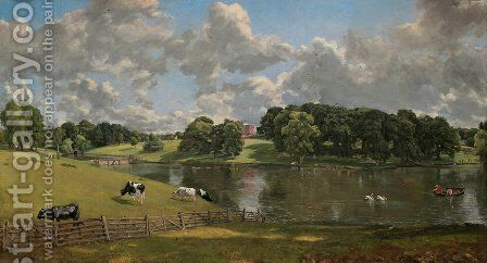Wivenhoe Park, Essex by John Constable - Reproduction Oil Painting