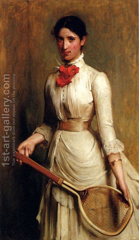 Portrait Of Artist's Sister-In-Law by Arthur Hacker - Reproduction Oil Painting