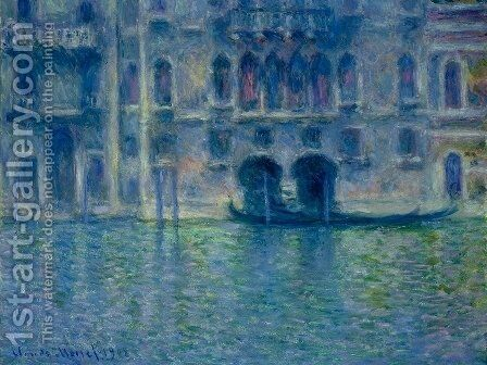 Palazzo da Mula at Venice by Claude Oscar Monet - Reproduction Oil Painting