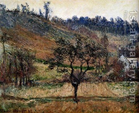 The Valley Of Falaise by Claude Oscar Monet - Reproduction Oil Painting