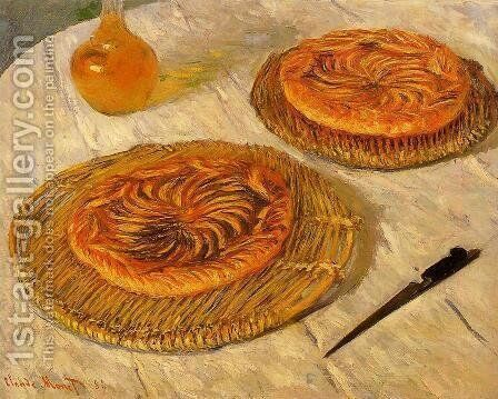 "The ""Galettes"" by Claude Oscar Monet - Reproduction Oil Painting"