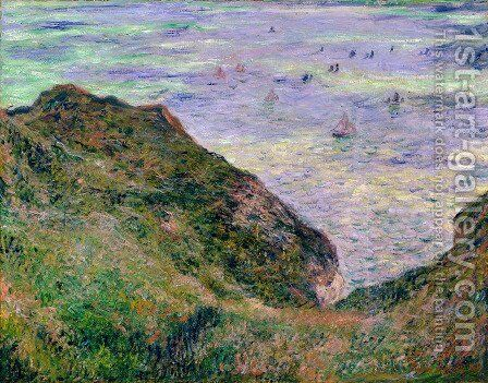 View Over The Seas by Claude Oscar Monet - Reproduction Oil Painting