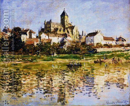 The Church At Vetheuil 2 by Claude Oscar Monet - Reproduction Oil Painting