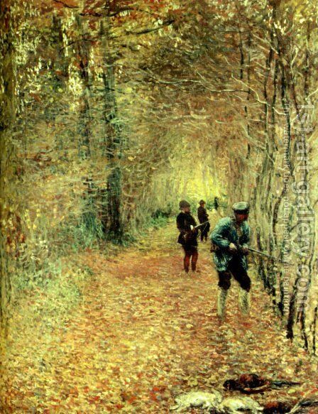 The Shoot by Claude Oscar Monet - Reproduction Oil Painting