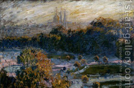 The Tuileries by Claude Oscar Monet - Reproduction Oil Painting