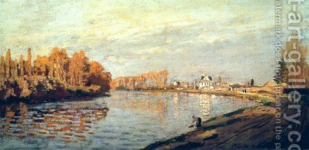The Seine At Argenteuil 3 by Claude Oscar Monet - Reproduction Oil Painting