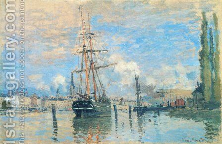 The Seine At Rouen by Claude Oscar Monet - Reproduction Oil Painting
