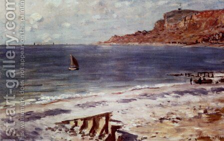 Sailing At Sainte-Adresse by Claude Oscar Monet - Reproduction Oil Painting
