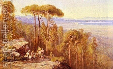 Marathon by Edward Lear - Reproduction Oil Painting