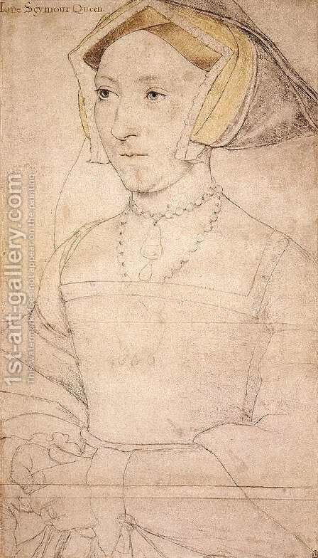 Portrait of Jane Seymour by Hans, the Younger Holbein - Reproduction Oil Painting
