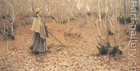 November by Birge Harrison - Reproduction Oil Painting