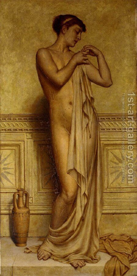 Before the bath by Arthur Hill - Reproduction Oil Painting