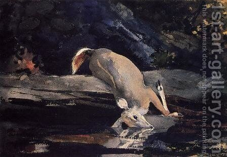Fallen Deer by Winslow Homer - Reproduction Oil Painting