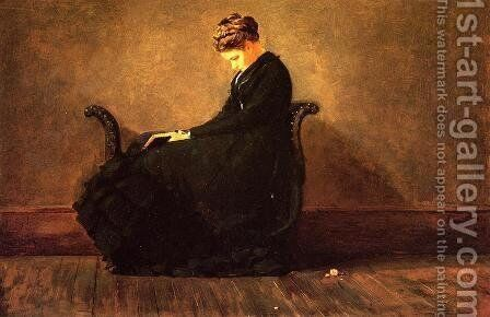 Portrait of Helena de Kay by Winslow Homer - Reproduction Oil Painting