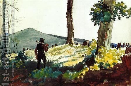 The Pioneer by Winslow Homer - Reproduction Oil Painting