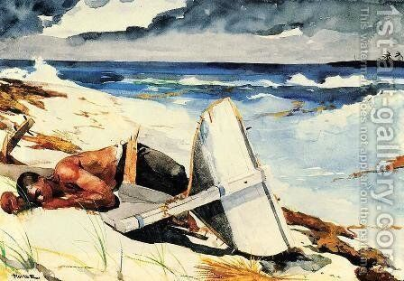 After the Hurricane by Winslow Homer - Reproduction Oil Painting
