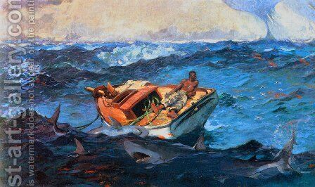 The Gulf Stream by Winslow Homer - Reproduction Oil Painting