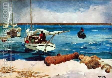 Nassau by Winslow Homer - Reproduction Oil Painting
