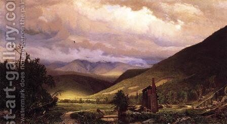Old Smelter by Hugh Bolton Jones - Reproduction Oil Painting