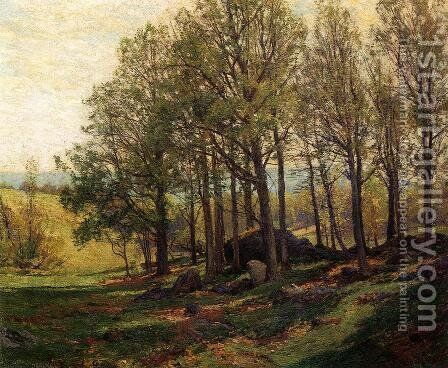 Maples in Spring by Hugh Bolton Jones - Reproduction Oil Painting