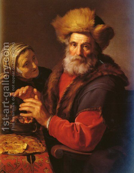 An Allegory Of Winter by Hendrick Bloemaert - Reproduction Oil Painting