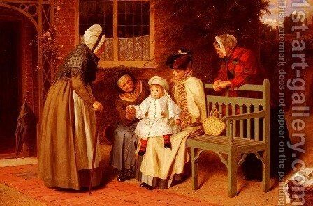 The Center of Attraction by James Hayllar - Reproduction Oil Painting