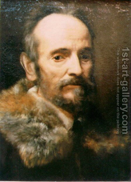Portrait of a Man by Cristofano Allori - Reproduction Oil Painting